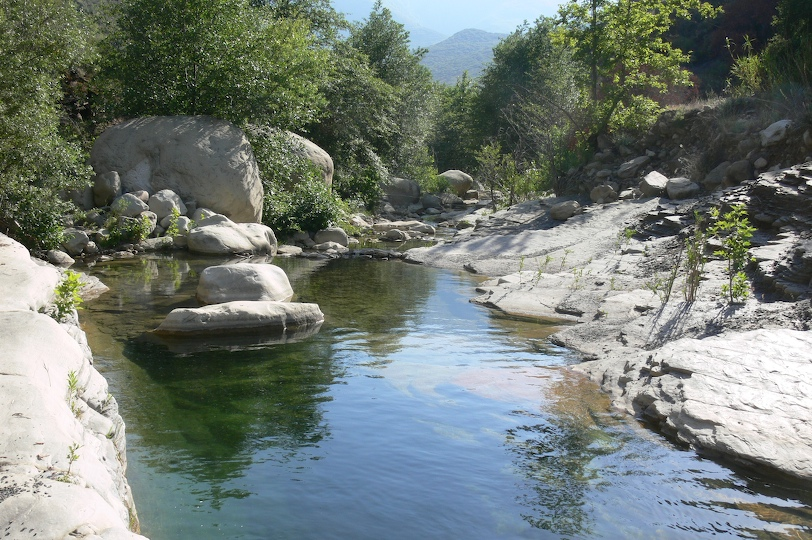 Pool at Middle Matilija
